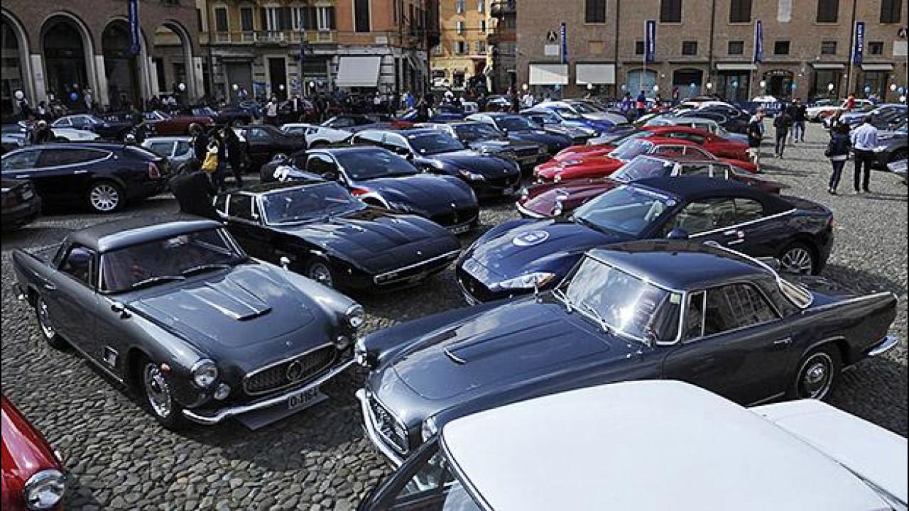 [Copertina] - Maserati da sogno al raduno dei 100 anni