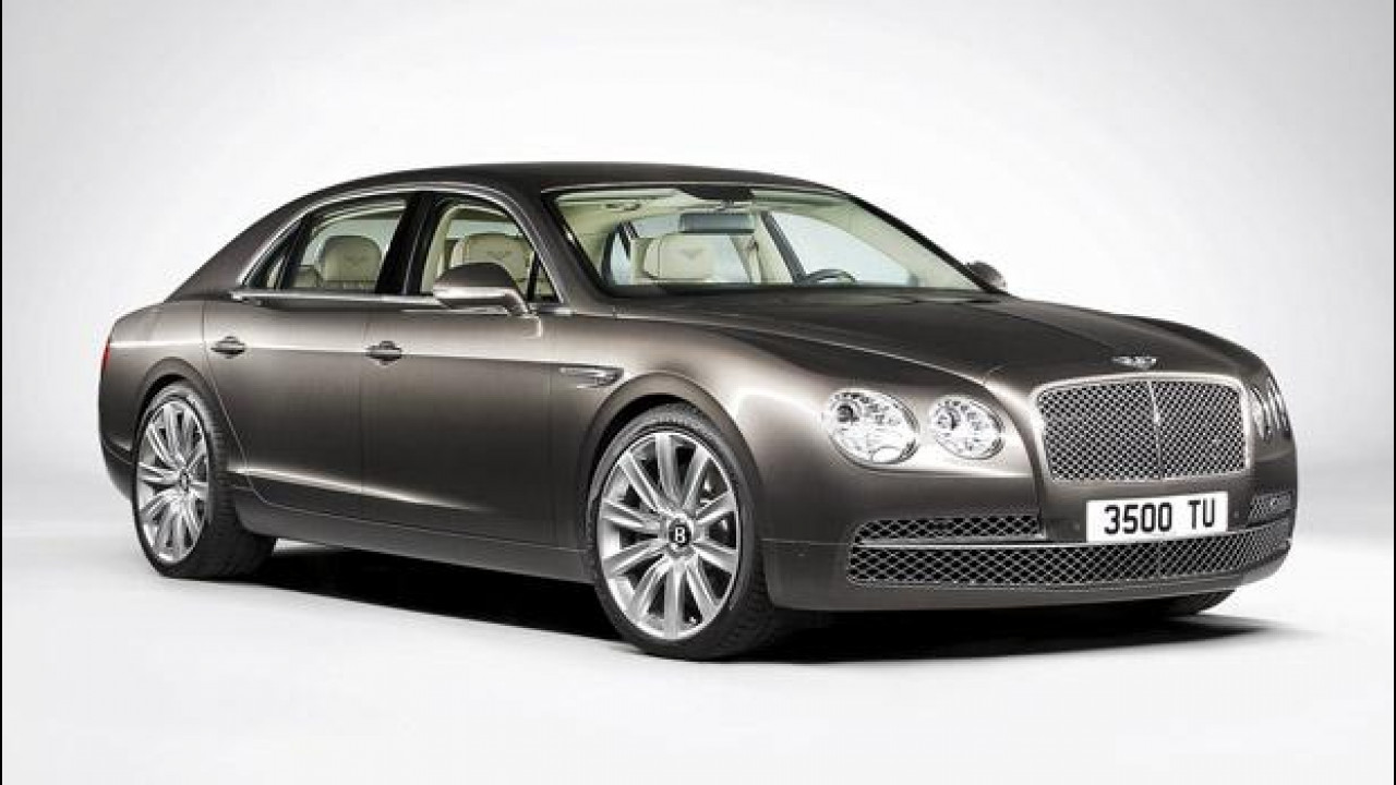 [Copertina] - Bentley Continental Flying Spur restyling: le prime foto