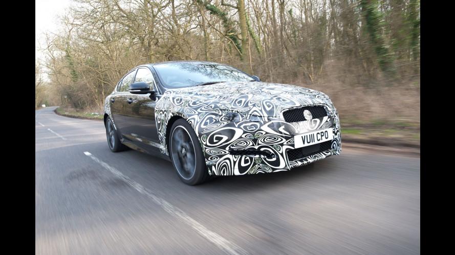 Jaguar XF, la prova in anteprima del Diesel 4 cilindri