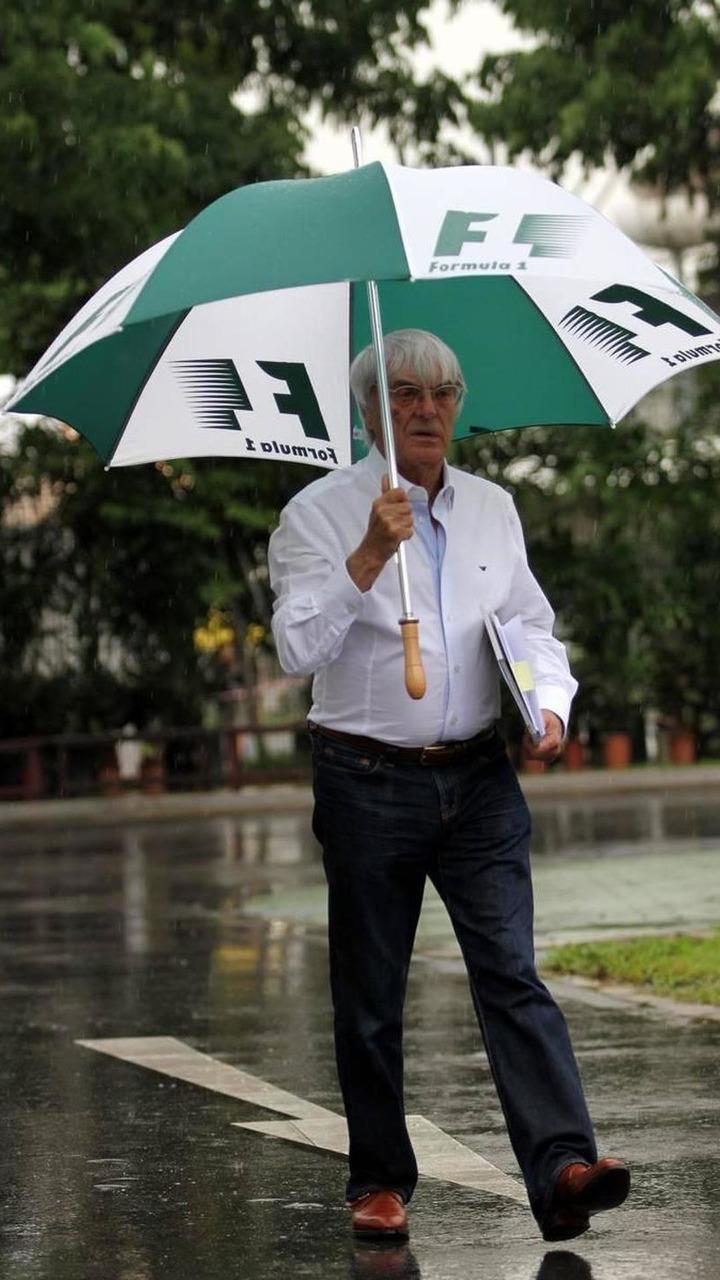 Bernie Ecclestone (GBR) - Formula 1 World Championship, Rd 15, Singapore Grand Prix, 23.09.2010