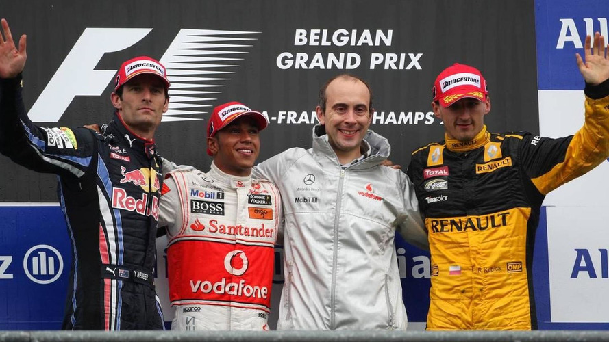2010 Belgian Grand Prix - RESULTS