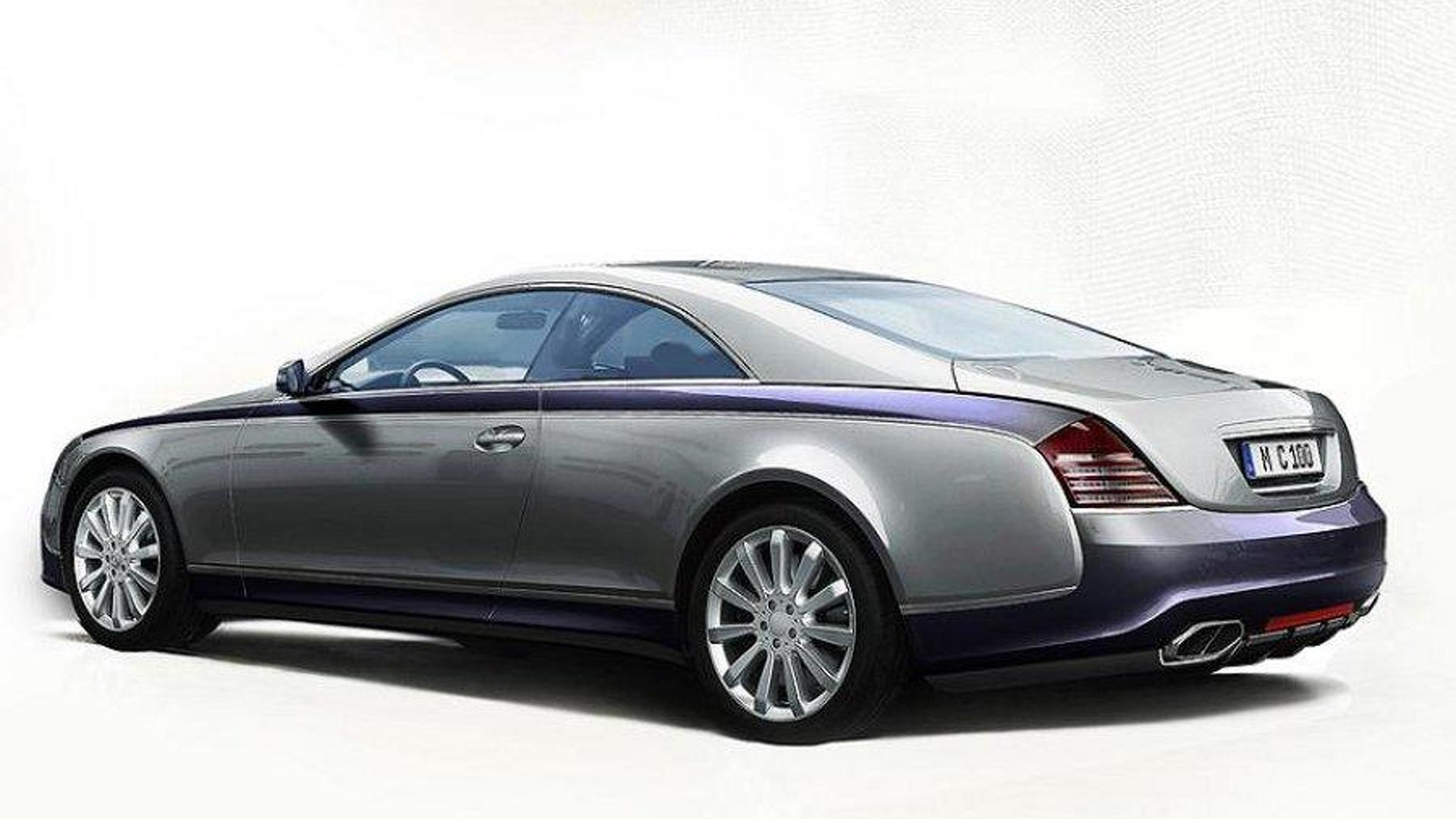 maybach 57s coupe conversionxenatec previewed