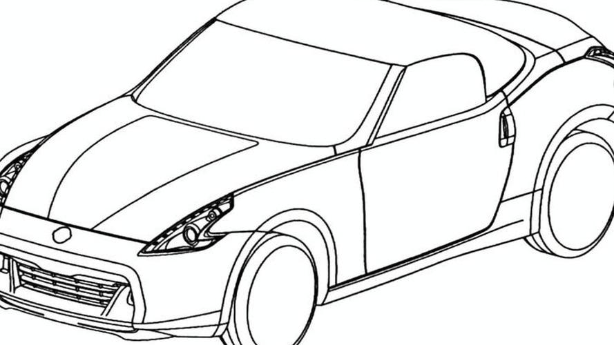 Nissan 370z Roadster Design Sketches Leaked Via European Trademark