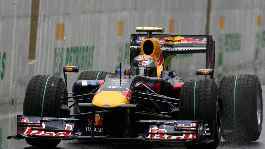 Vettel's title in tatters in qualifying rain