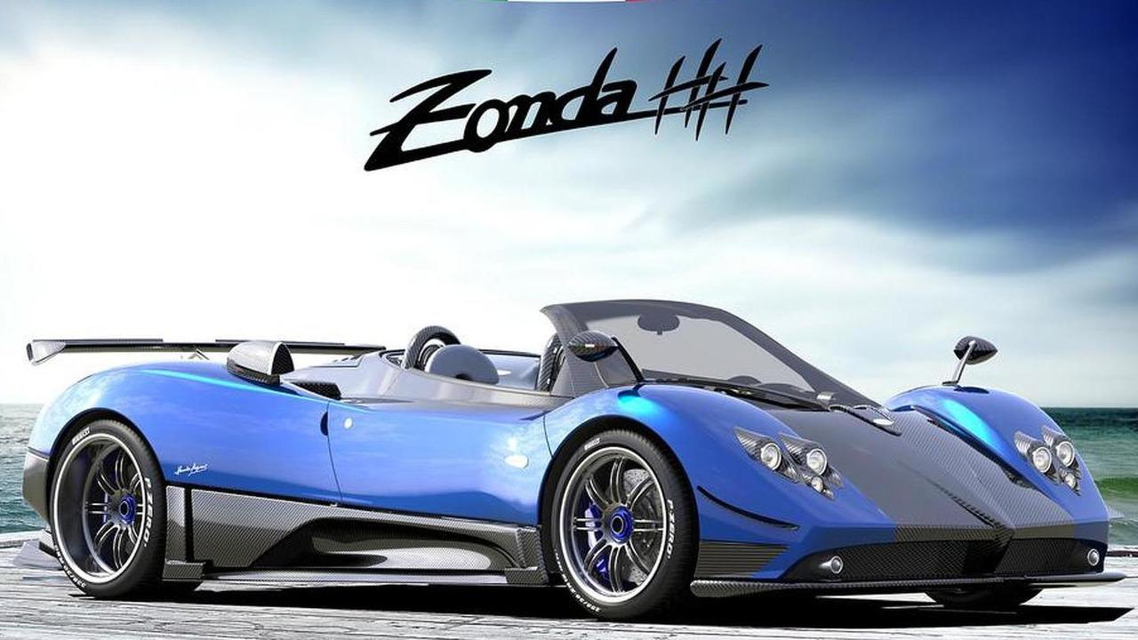Pagani Zonda Hh Rendered Plus Cinque Roadster 4 5 Video