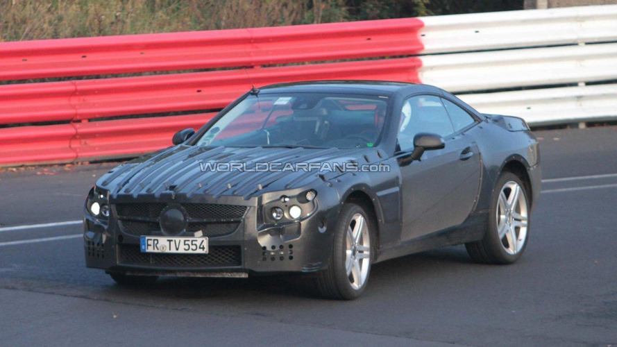 2012 Mercedes-Benz SL spied at Nürburgring