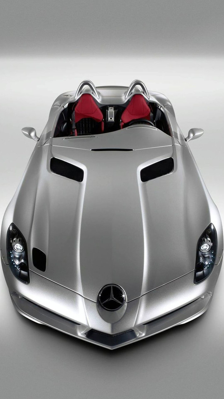 Mercedes Benz Slr Mclaren Stirling Moss Foto