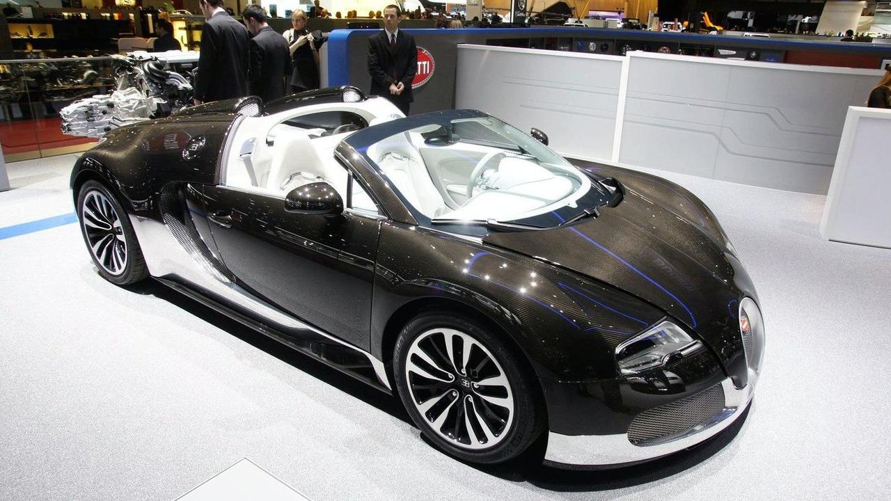 Bugatti Veyron 16.4 Grand Sport live in Geneva 03.03.2010