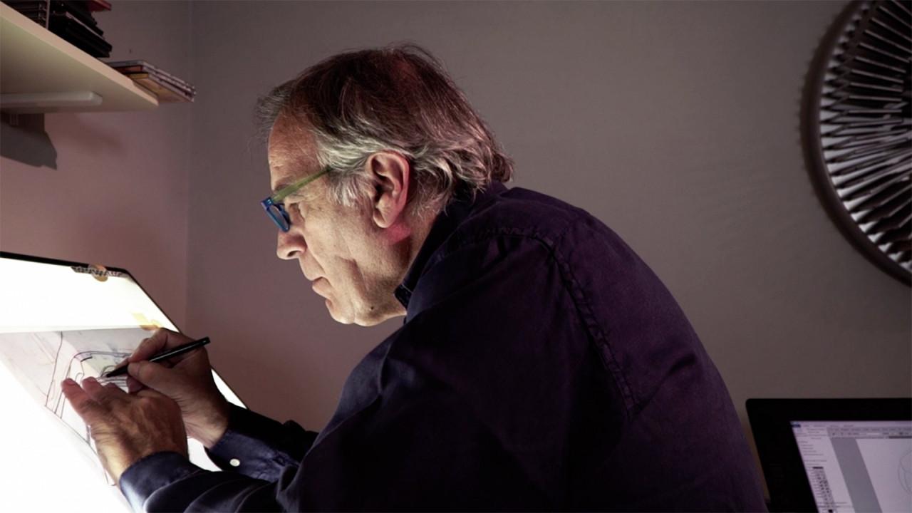 [Copertina] - Giorgio Piola, un documentario tra velocità e disegni