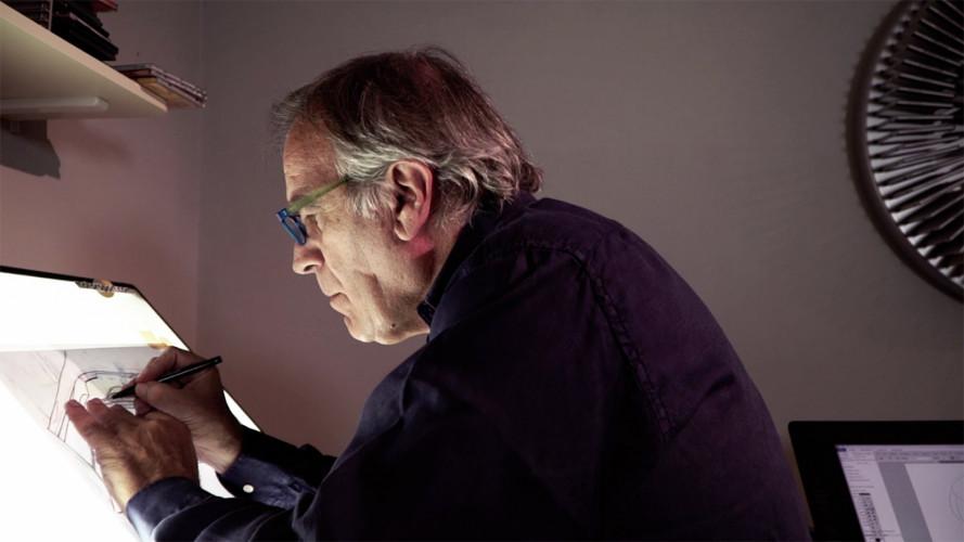 Giorgio Piola, un documentario tra velocità e disegni