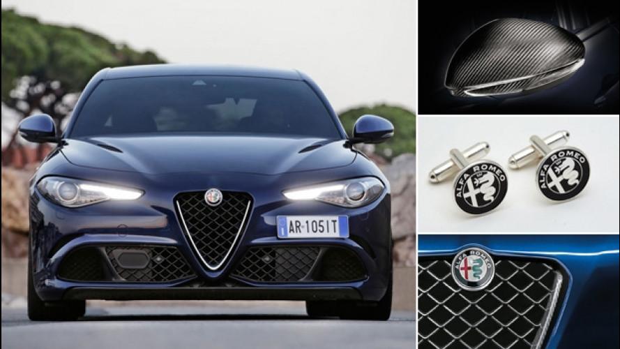 Alfa Romeo Giulia, gli accessori Mopar