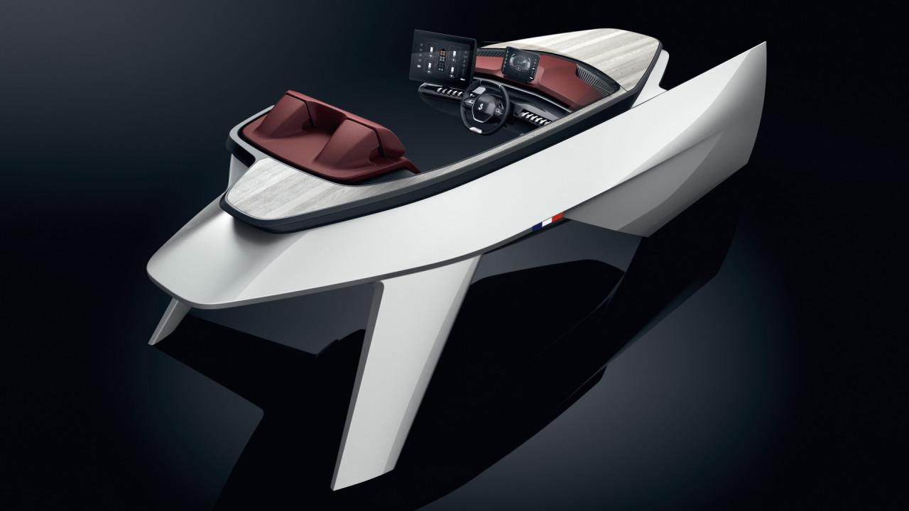 [Copertina] - Peugeot, l'i-Cockpit ispira la plancia delle imbarcazioni Beneteaut