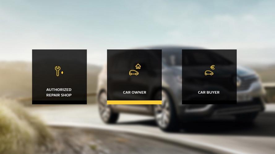 Renault, il libretto di manutenzione è digitale