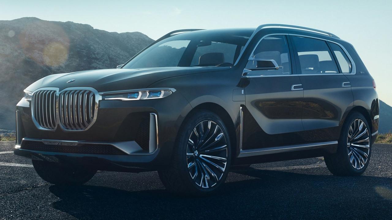 [Copertina] - BMW Concept X7, le prime foto in rete