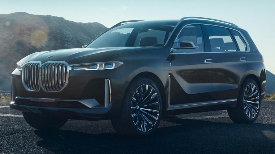BMW Concept X7, le prime foto in rete