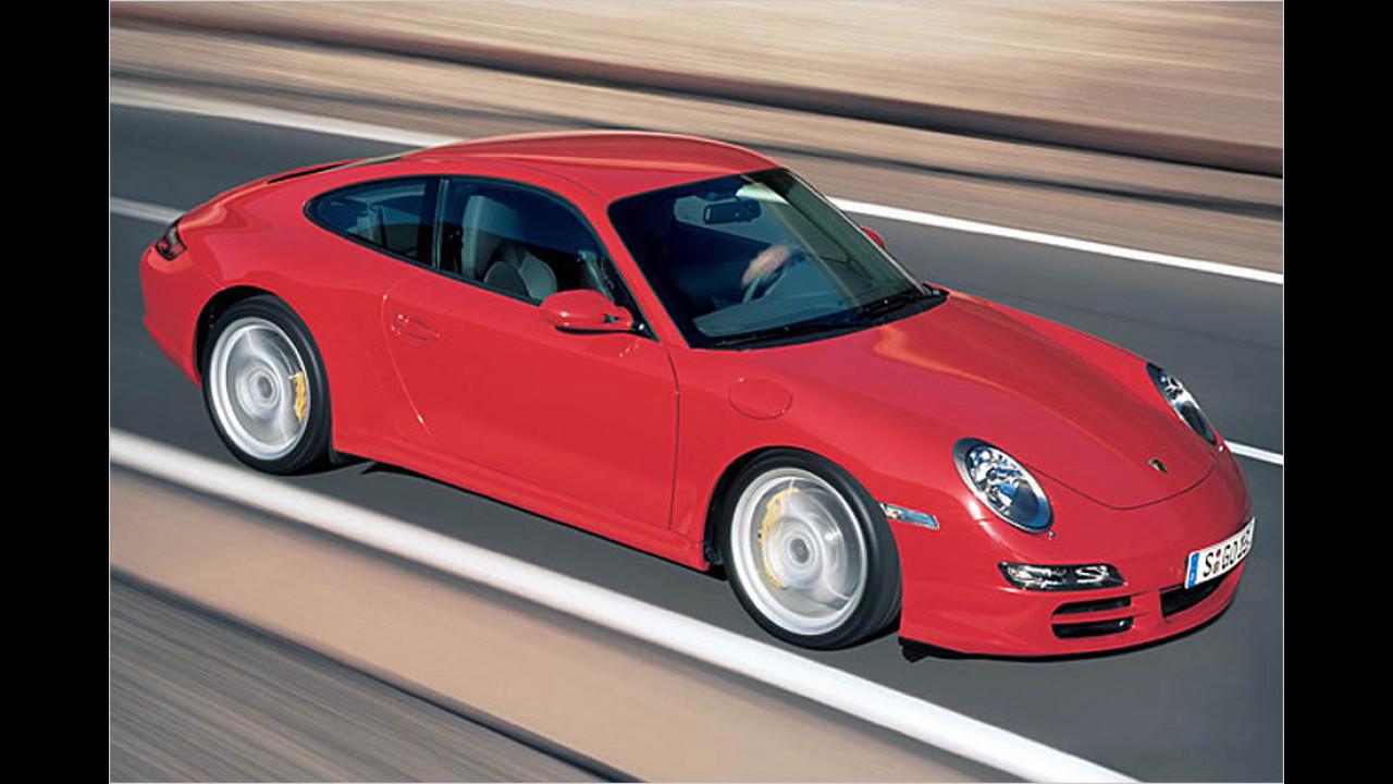 Die besten Autos bis 11 Jahre: Porsche 911