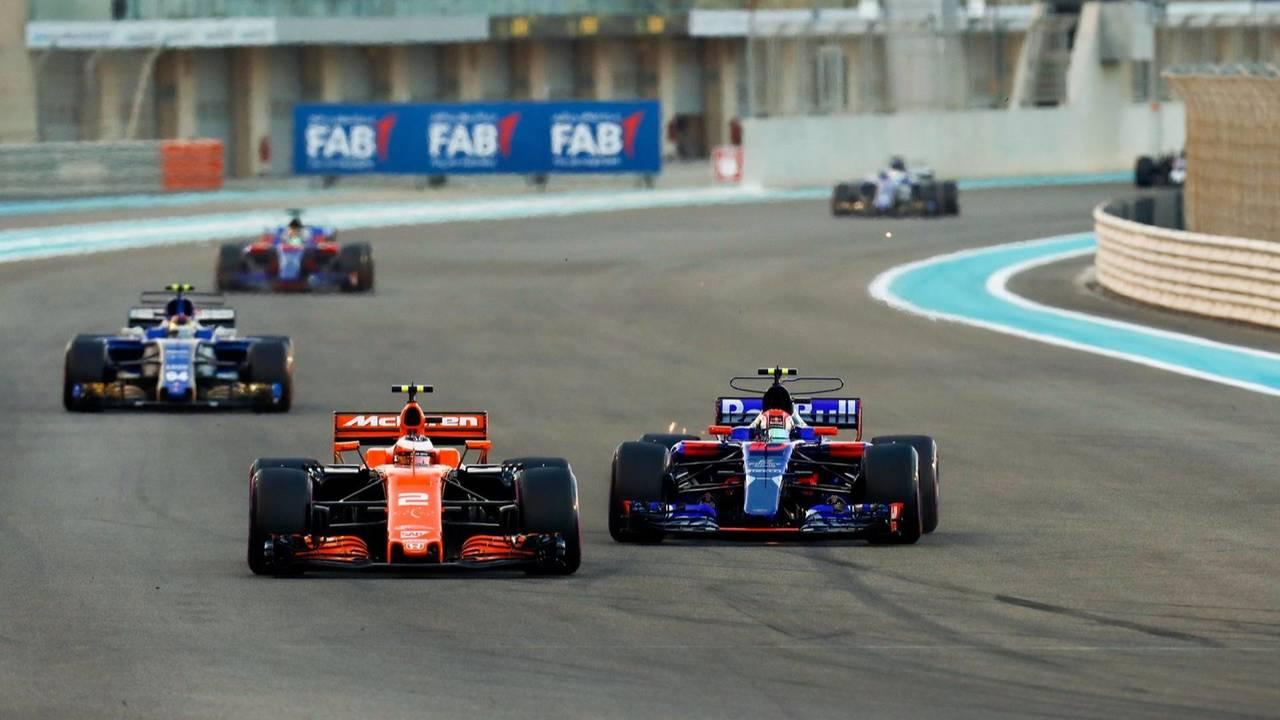 Red Bull, Honda, McLaren