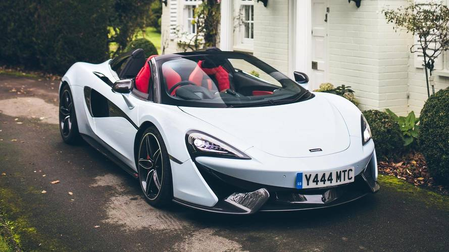 McLaren 570S Spider Ushers In New Muriwai White Paint