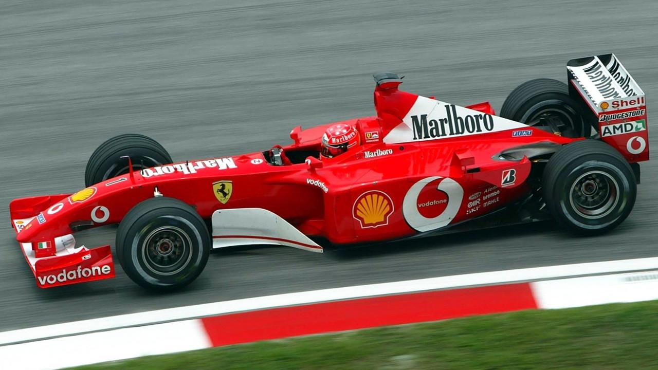 [Copertina] - Ferrari F2001, all'asta quella di Schumacher