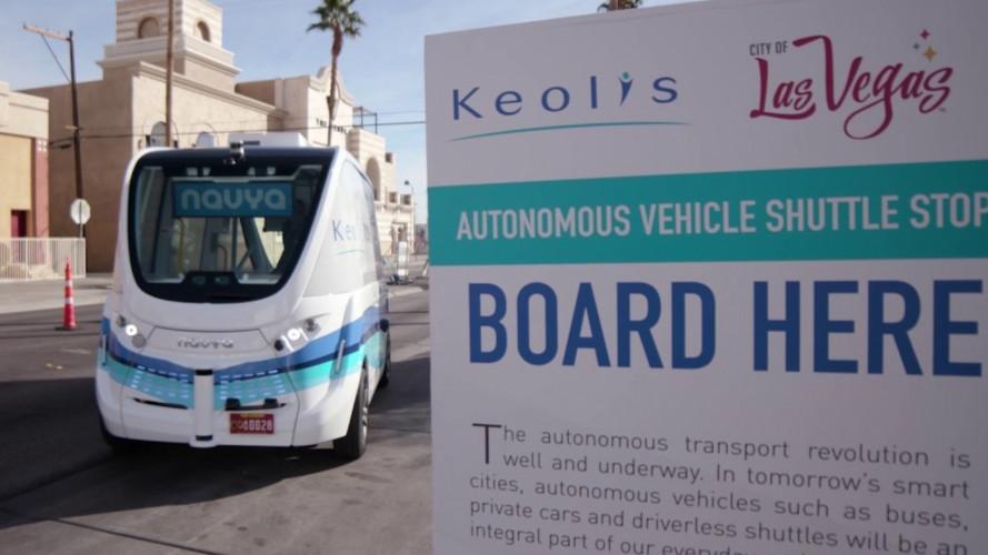 Guida autonoma, a Las Vegas è già realtà con Keolis