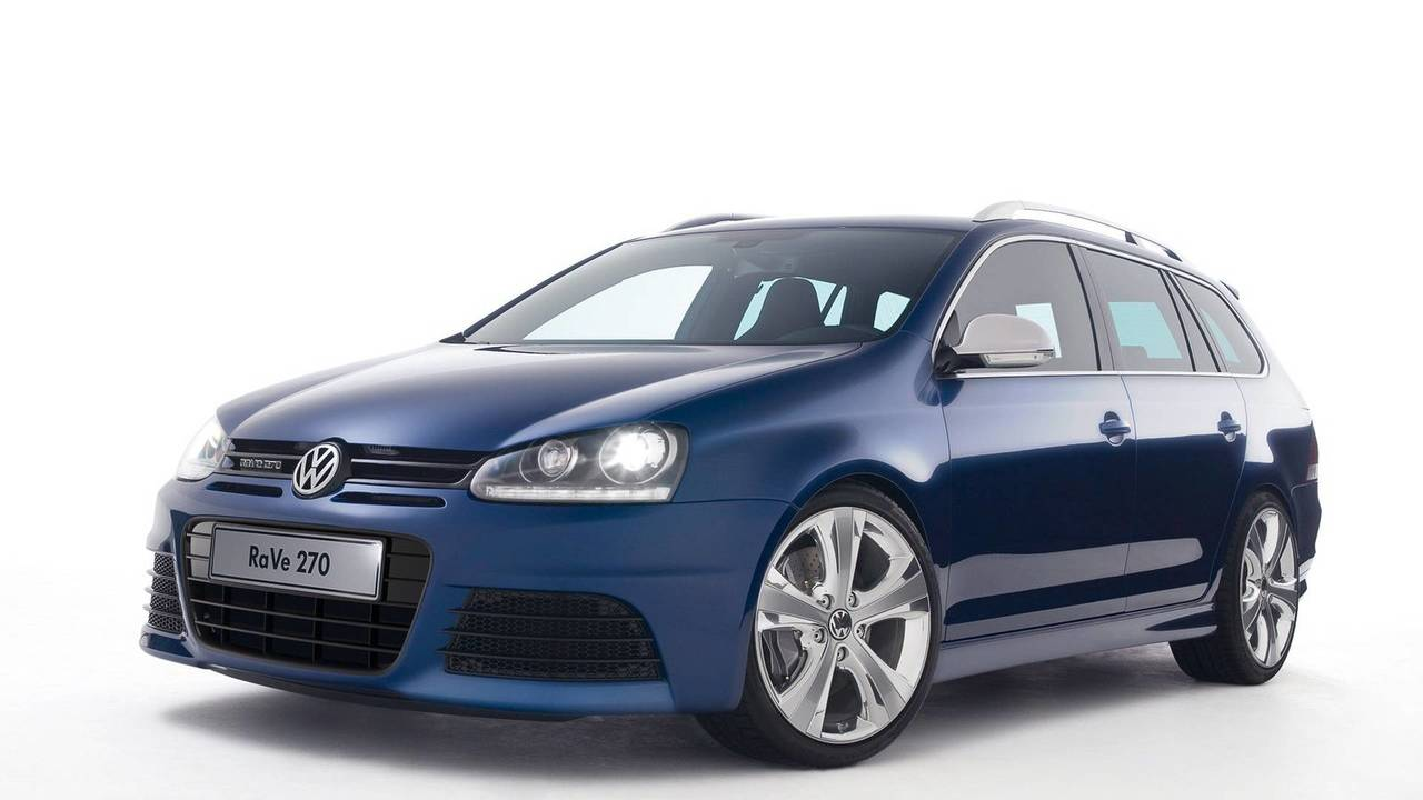 2007 VW Golf Variant RaVe 270 konsepti