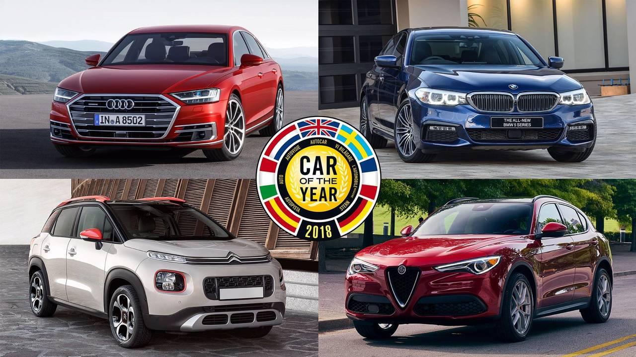 Diaporama voiture de l 39 ann e 2018 les sept finalistes - Image de vehicule ...