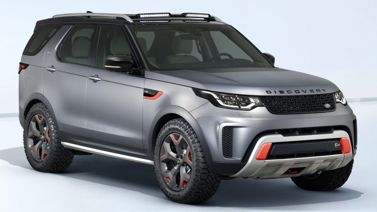 [Copertina] - Salone di Francoforte: Land Rover Discovery SVX, la più estrema