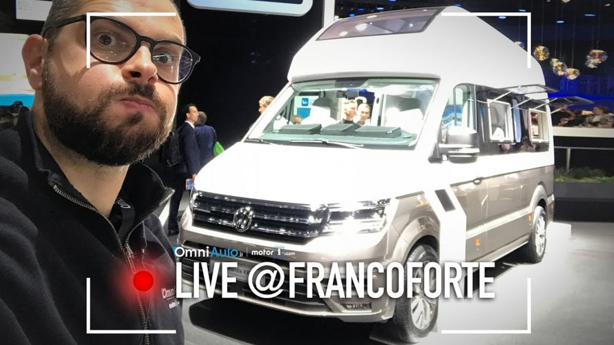 Salone di Francoforte: Volkswagen California taglia XXL [VIDEO]
