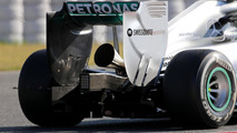 Mercedes GP New exhaust, 14.05.2014, Formula One Testing, Barcelona, Spain, Day Two / XPB
