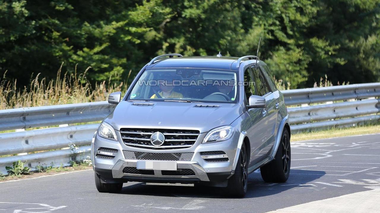2015 Mercedes-Benz MLC spy photo 31.07.2013