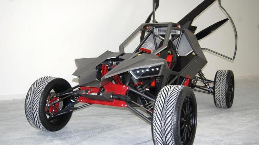 SkyRunner flying car 30.10.2013