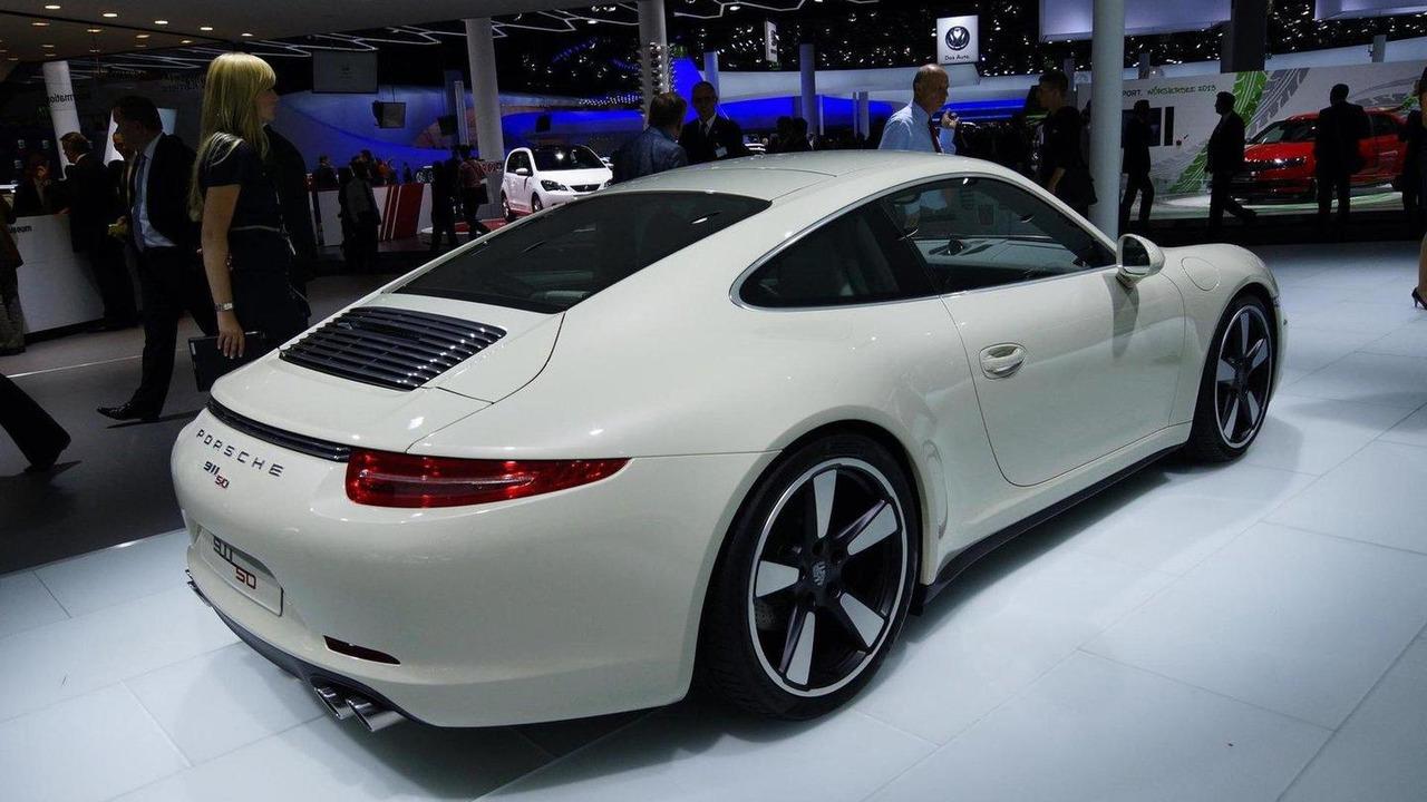 2014 Porsche 911 50 Years Edition live in Frankfurt 10.09.2013
