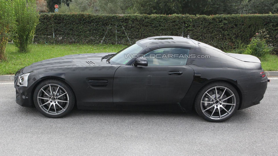 Mercedes SLC / C190 spy photo