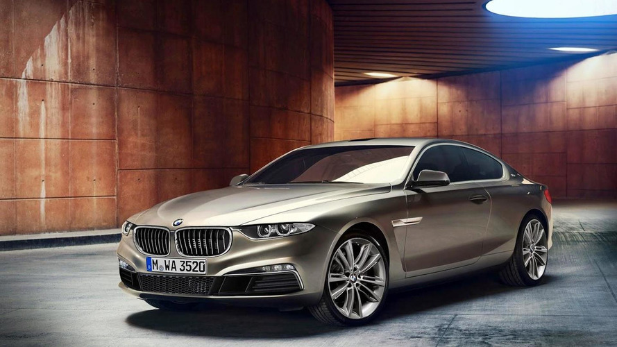 BMW 8-Series rendered based on the Gran Lusso Coupe