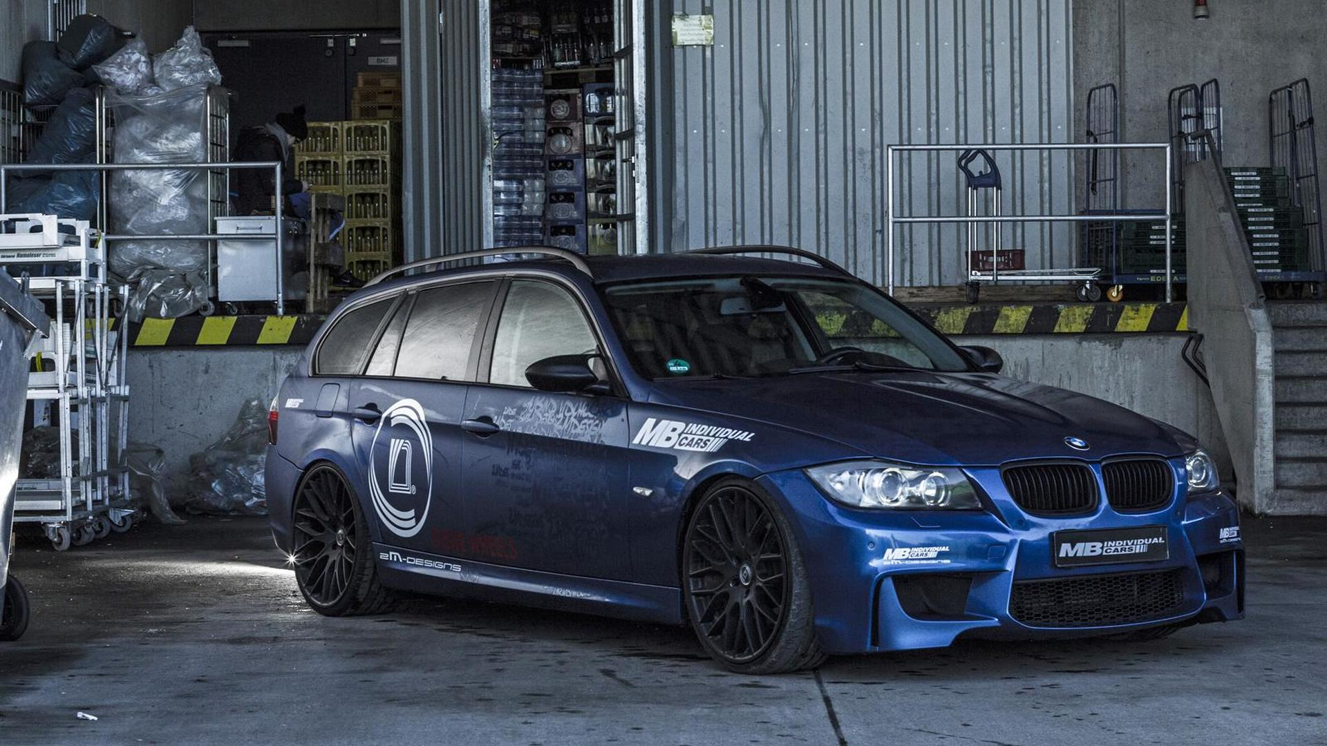 Mb Individual Dials The Bmw 335i Touring E91 To 400 Hp