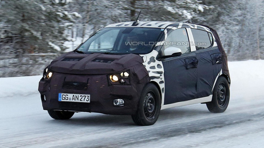 2015 Chevrolet Spark spied for the first time