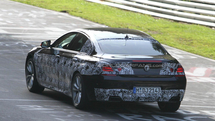 2013 BMW 6-Series 4-door GranCoupe with M-Sport Package spied on Nürburgring