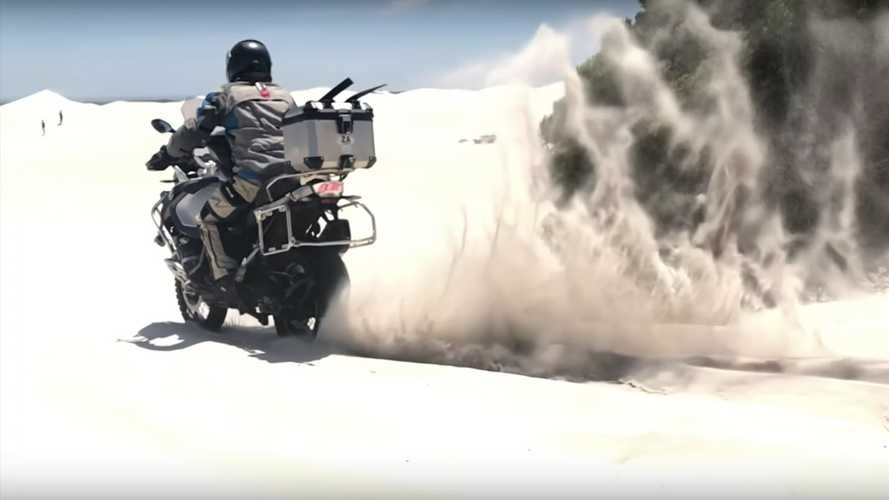 Bidding The R 1200 GS Farewell With A Ride In The Dunes