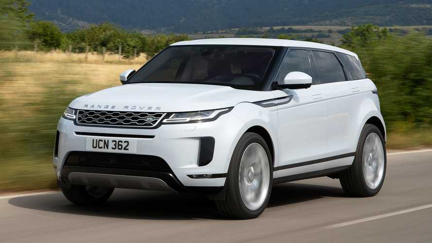 New Range Rover Evoque has class-leading residual values