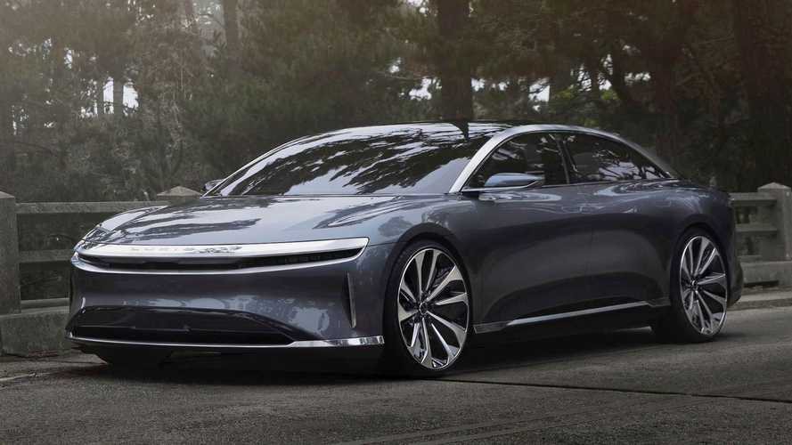 Lucid Air supera Tesla e Bugatti: o mais rápido do mundo no 1/4 de milha
