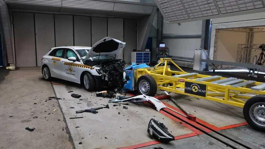 Nuova Audi A3 Sportback, i crash test Euro NCAP