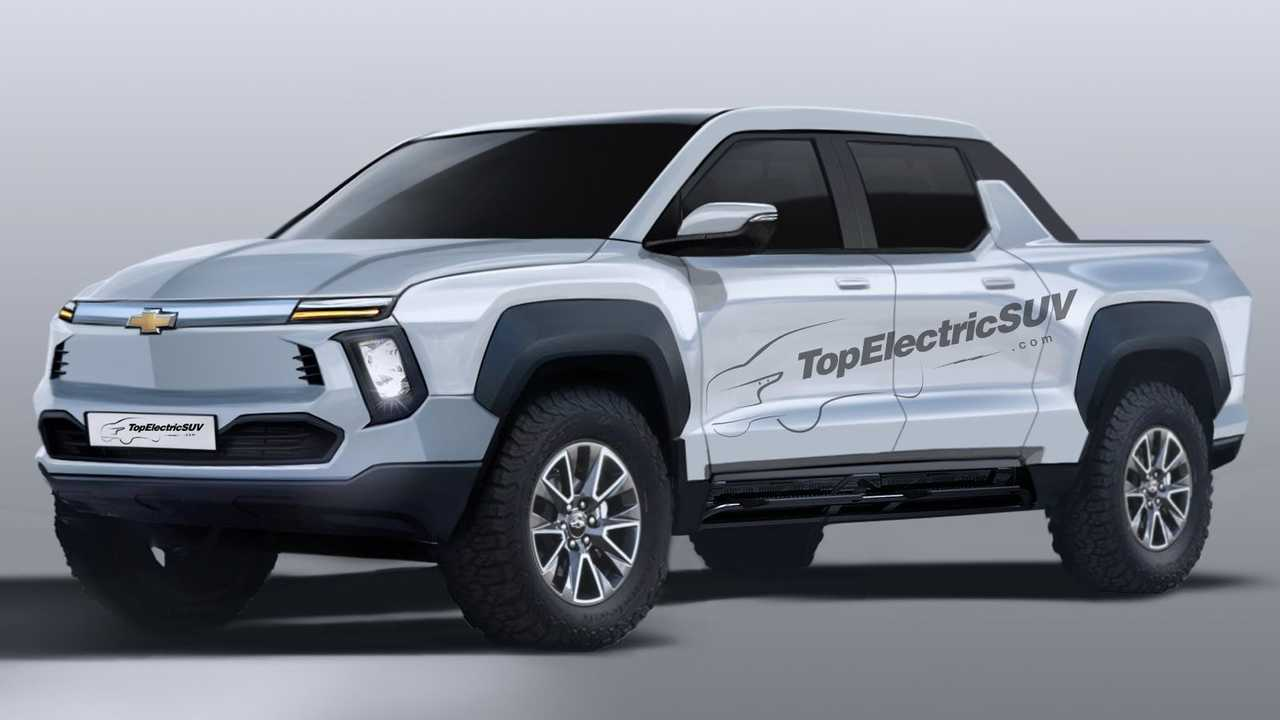 Chevrolet BET Electric truck teasers and rendering