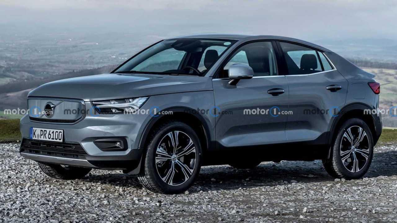 Volvo XC40 Coupé (Rendering von Motor.es)
