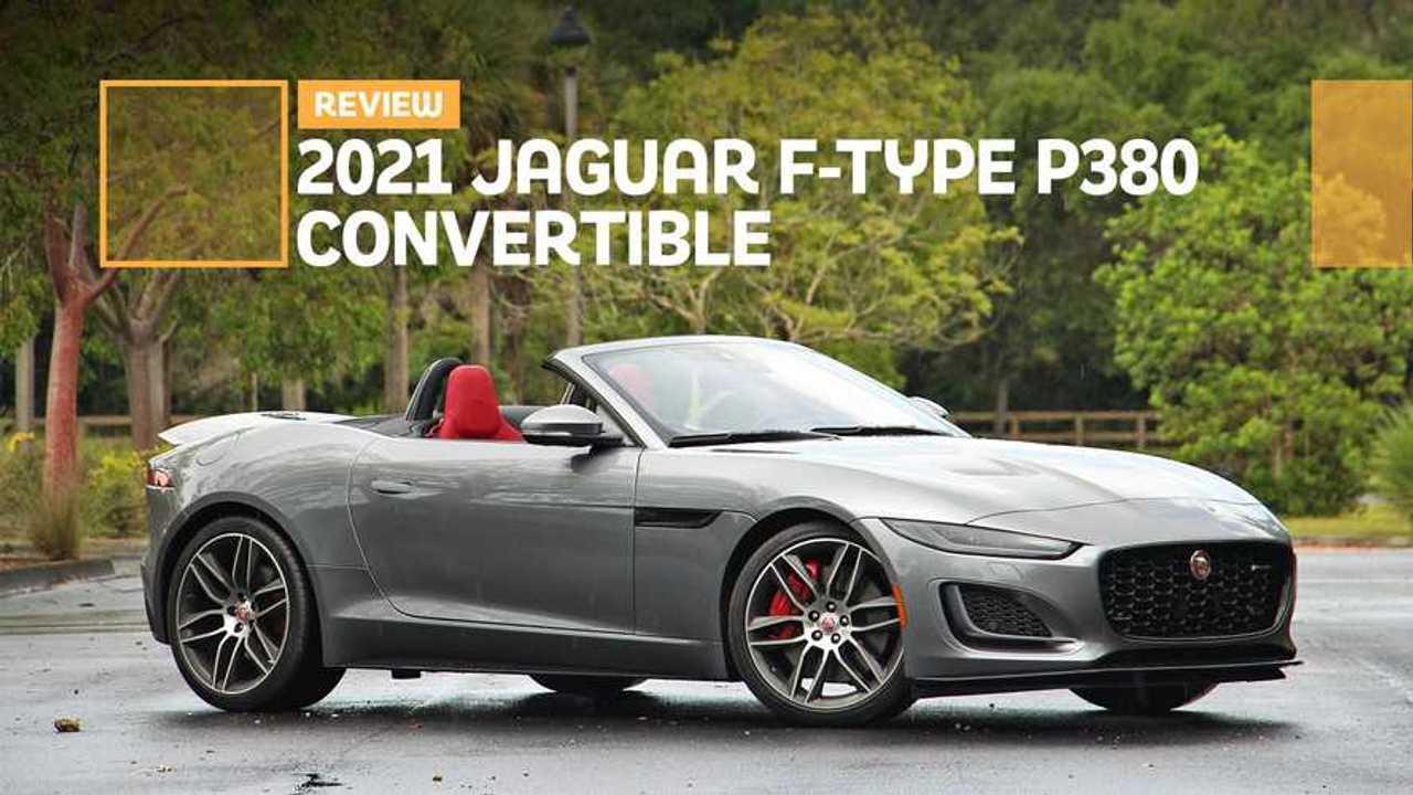 2021 Jaguar F-Type Convertible Review Lead
