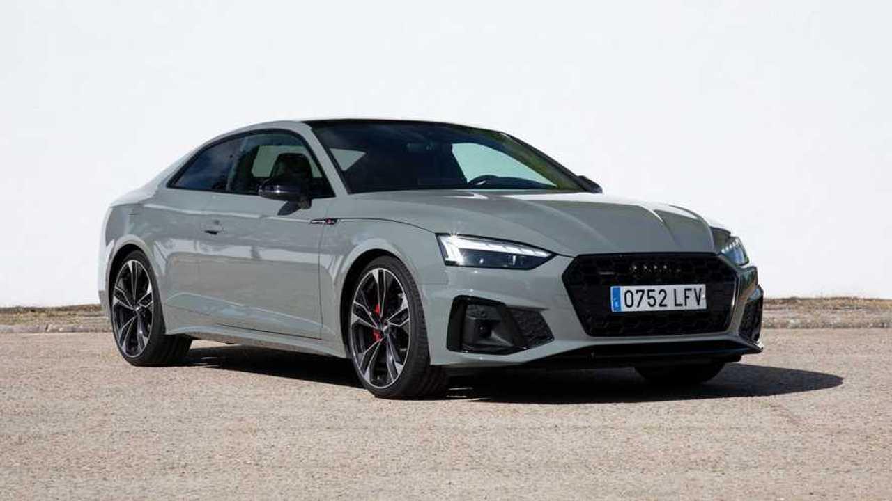 Audi A5 Coupé 40 TDI quattro S tronic 2020 prueba 3/4 delantero