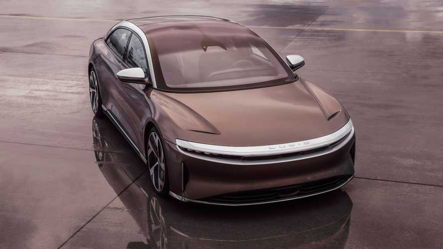 Lucid Air teased lowering its crazy quarter-mile time even more