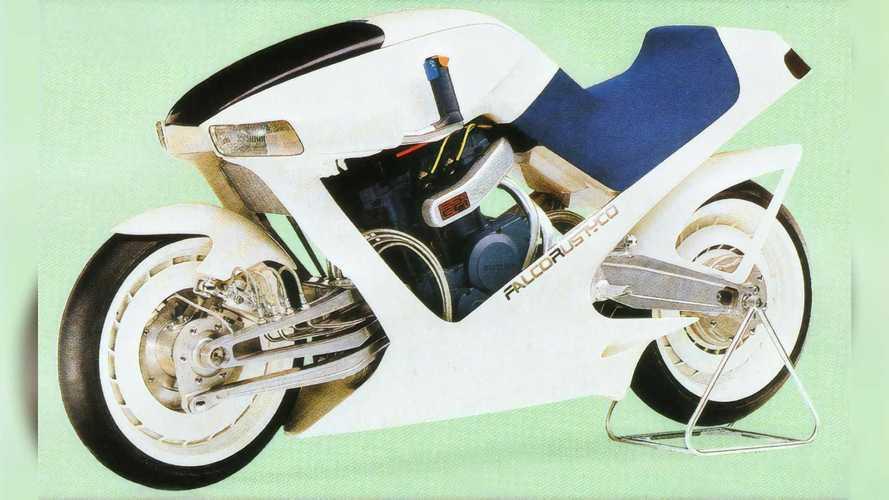 Suzuki Falcorustyco Concept: la moto del futuro... en 1985