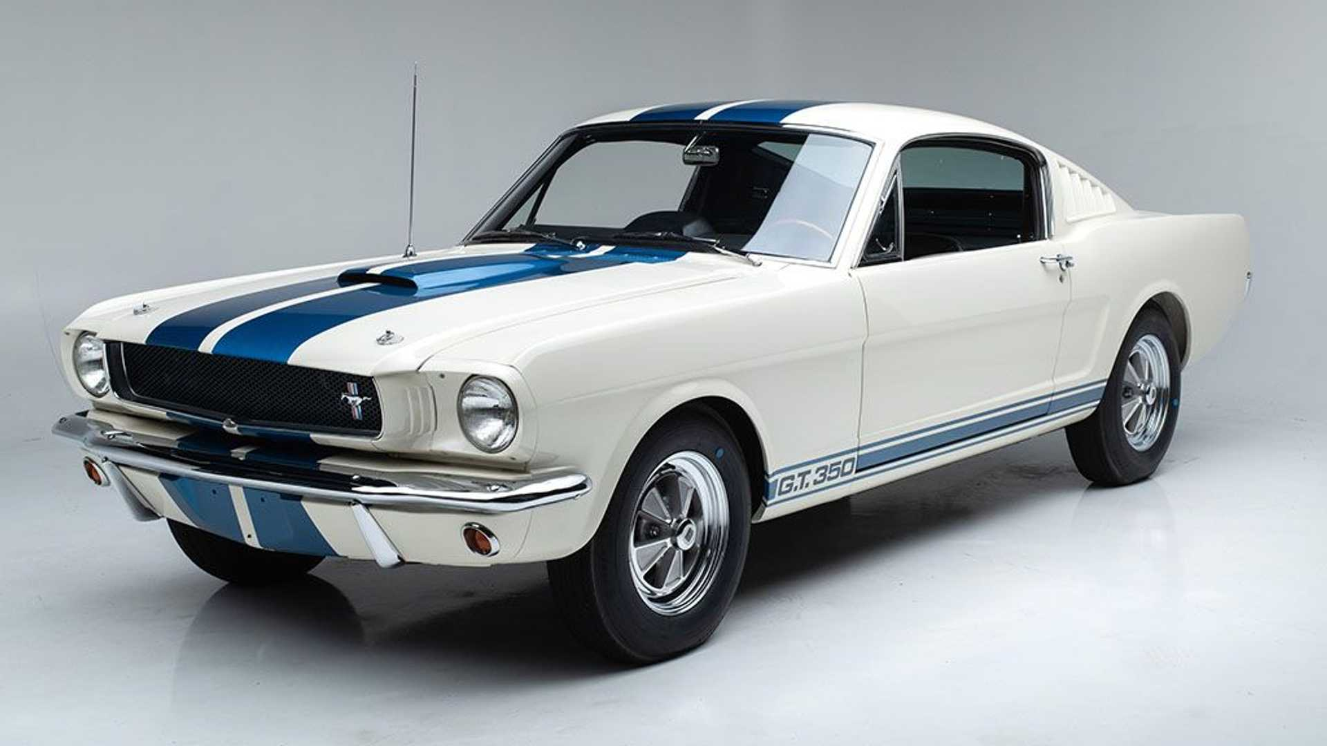 Barrett-Jackson CEO Auctioning His Own Mustang Shelby GT350