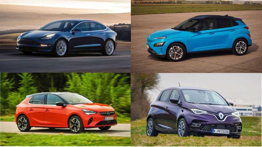 Meistverkaufte Elektroautos im Jahr 2020: Überraschung auf Platz zwei