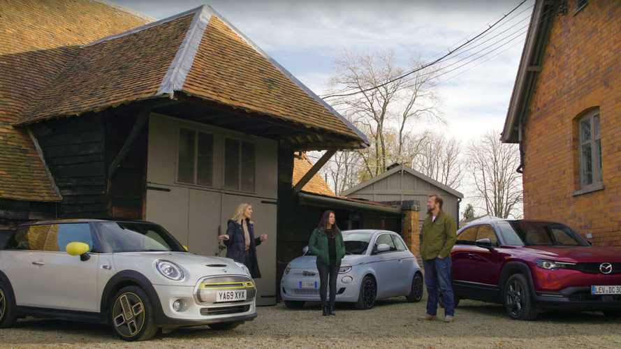 Fiat 500e faces off against Mini Cooper SE, Mazda MX-30